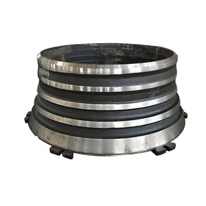 Manganese Steel Mantle Bowl Liner Suit metso gp550 Cone Crusher Wear Liners